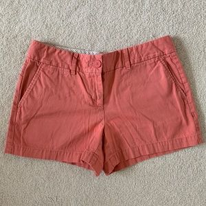 LOFT nantucket red shorts - size 2 (EUC)